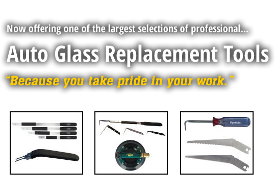 pipeknife Auto Glass Removal and Installation Tools